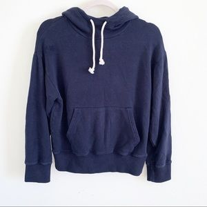 Vince navy hoody in size small!